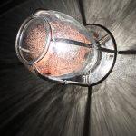 Applique verre et acier