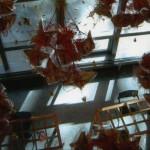 Suspensions papillotes papier, Conseil Général (Toulouse, 31)