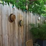 Palissade bois pin Douglas, terrasse du restaurant Label Braise - Ségoufielle (32)