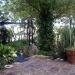 Entrée jardin, accès terrasse carrossable