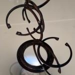 Sculpture acier H=50cm